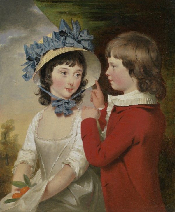 Portrait of William and Isabella Way of Denham Place, Buckinghamshire