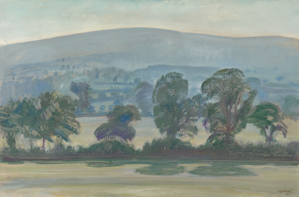 Sir Alfred Munnings - Dunkery Beacon from Selworthy, Exmoor