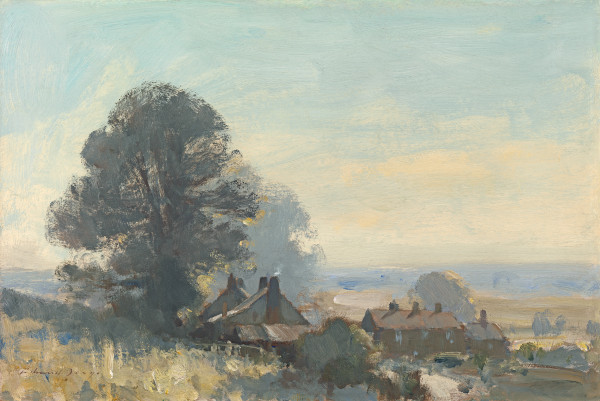 Edward Seago - September morning, Suffolk