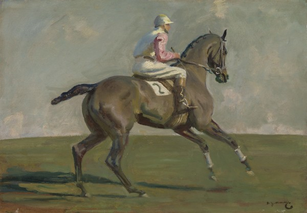 Sir Alfred Munnings - Going to the Start