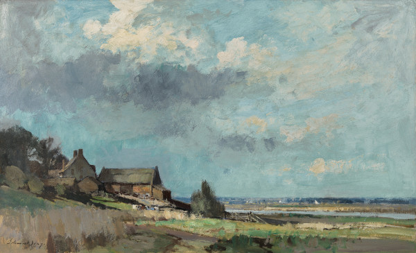 Edward Seago - High Mill Farm, Norfolk