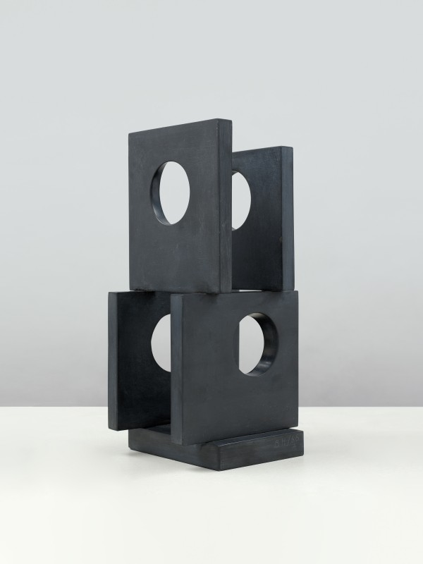 Dame Barbara Hepworth - Maquette for Large Sculpture: Four-Square (Four Circles)