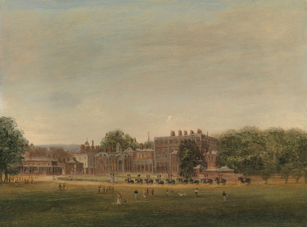 View of Buckingham House, London