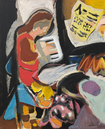 Ivon Hitchens - Piano player