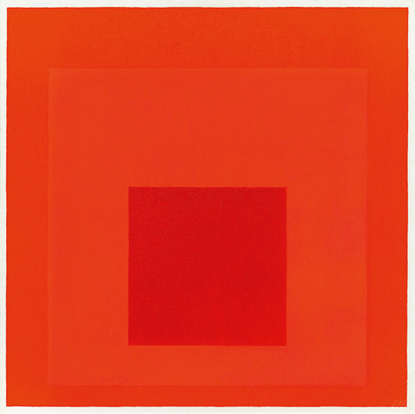 Josef Albers - Study for Homage to the Square