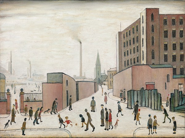 Laurence Stephen Lowry - The cross-roads