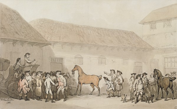 Tattersall's - an auction of a thoroughbred at Grosvenor Place