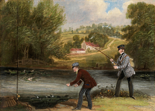 James Pollard - Angling at South Stoneham, Hampshire