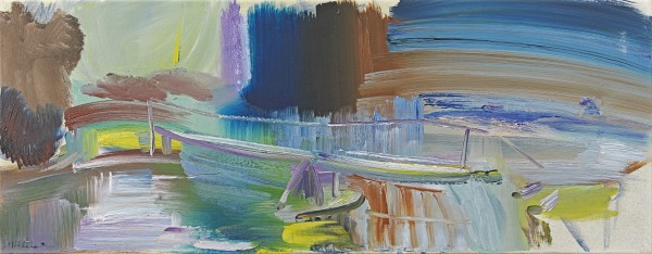 Ivon Hitchens - River at Avington No.1