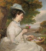 William Powell Frith - Flowers