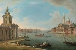 Antonio Joli - Venice, the Bacino di San Marco looking east, with the Punta della Dogana and San Giorgio Maggiore