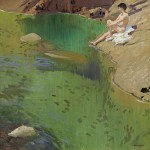 Dame Laura Knight - The bather