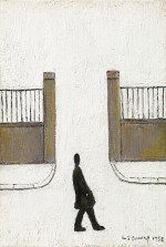 Laurence Stephen Lowry - Man looking at something