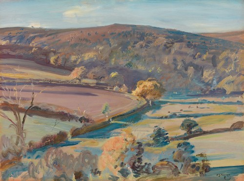 Sir Alfred Munnings - September afternoon, Exmoor