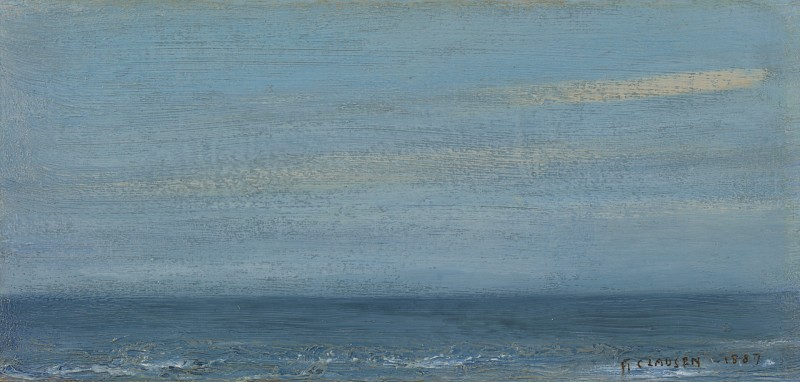 Sir George Clausen - Sea deep blue