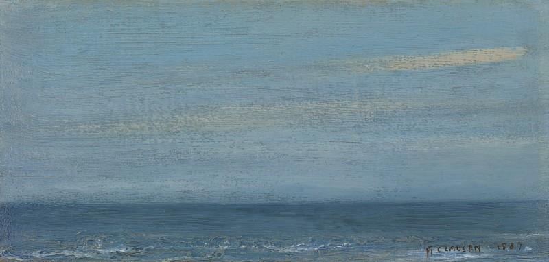 Sir George Clausen - Sea deep blue