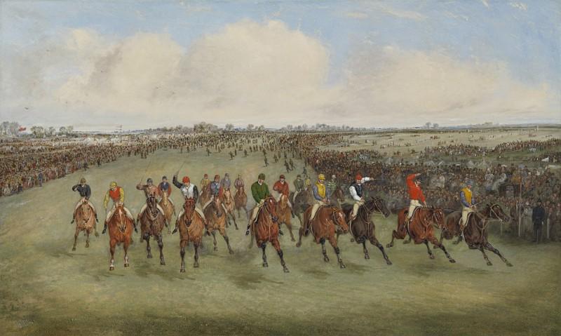 Samuel Henry Alken - The Derby, 1875