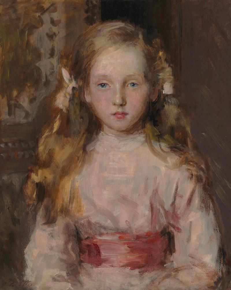 Philip Wilson Steer - Betty, portrait of Miss Elizabeth Cary Elwes (1912-2005)