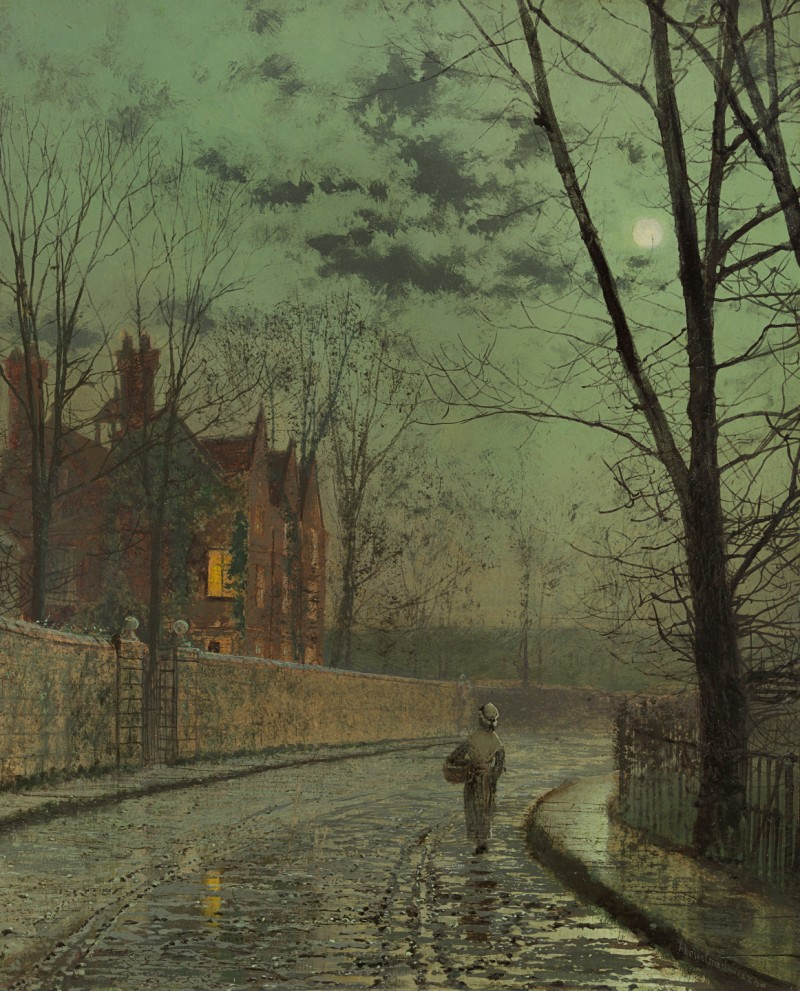 John Atkinson Grimshaw - After the shower
