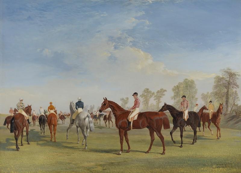 John Frederick Herring Snr - Epsom Derby, 1834