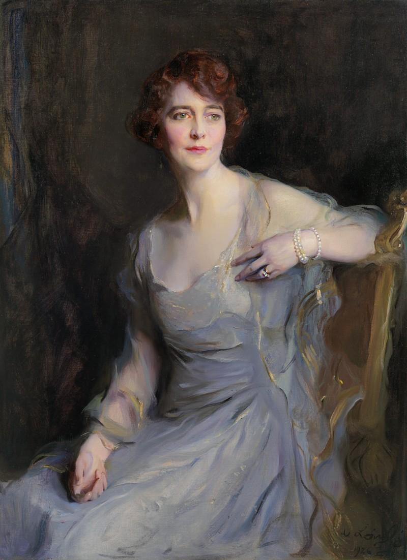 PHILIP ALEXIUS DE LÁSZLÓ - Portrait of Mrs William Endicott, née Ellice Mack (1892-1973)