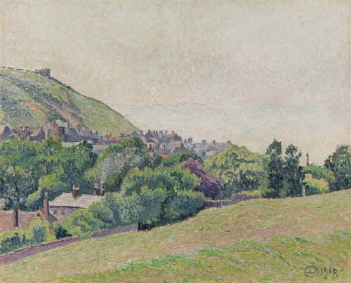 Lucien Pissarro - East Hill and Old Town, Hastings