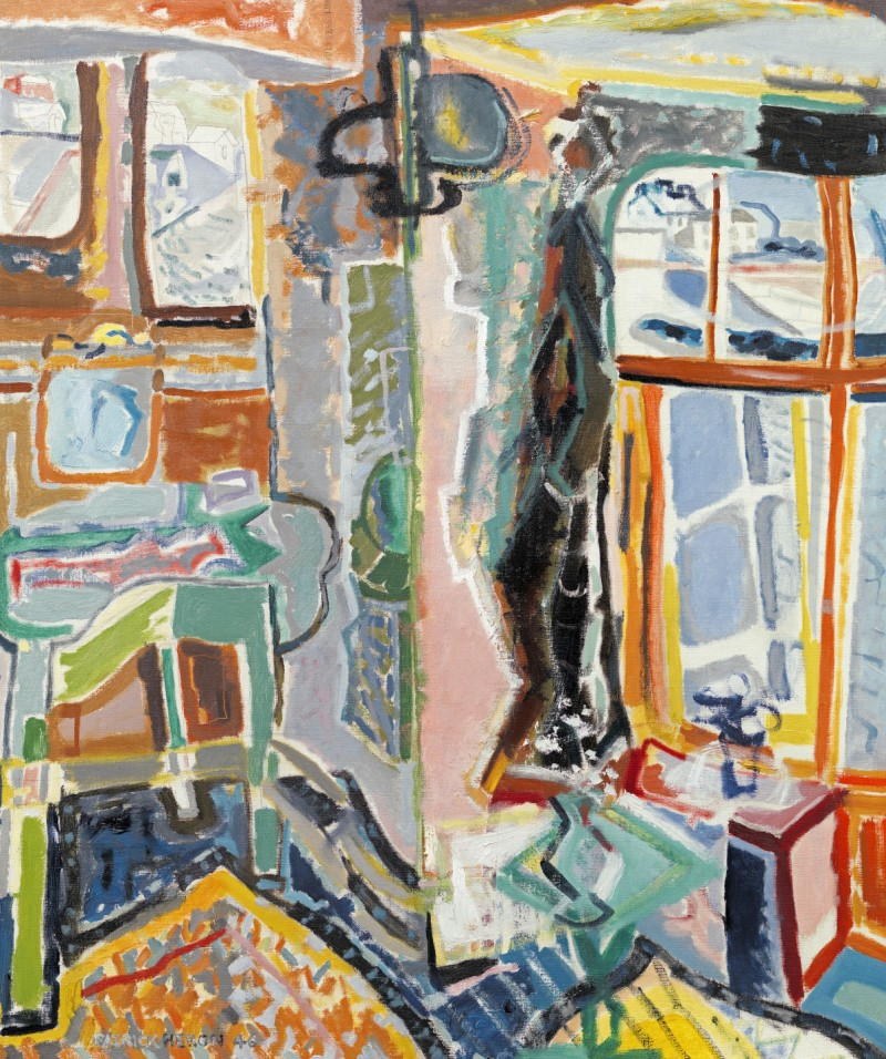 Patrick Heron - Bedroom, Mousehole
