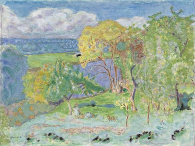Pierre Bonnard - Paysage d'automne (environs de Vernon)