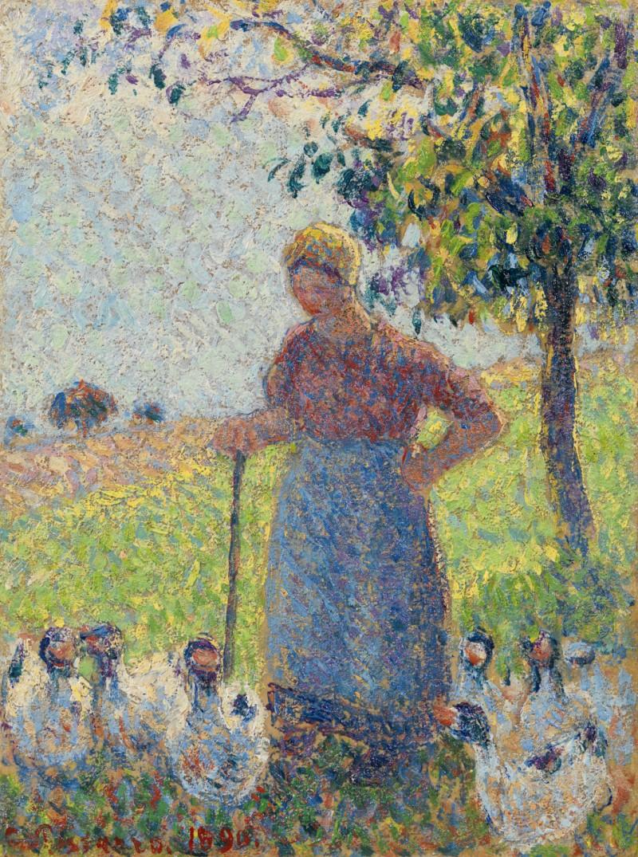 Camille Pissarro - La gardeuse d'oies