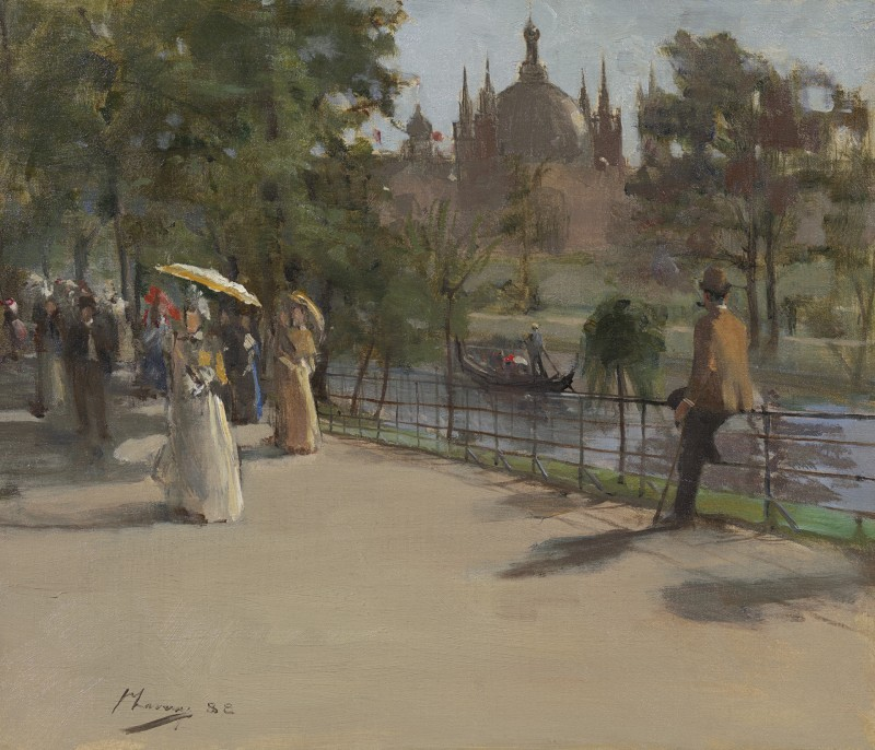 Sir John Lavery - The Glasgow International Exhibition