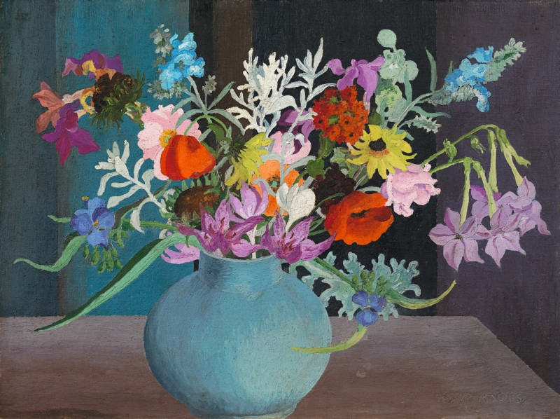 Sir Cedric Lockwood Morris - Nicotiana in contrast
