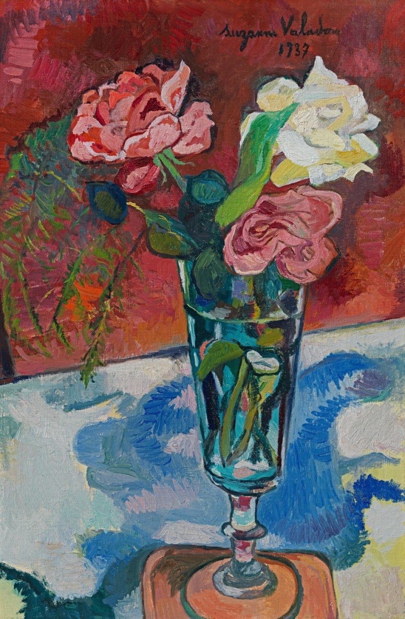 Suzanne Valadon - Fleurs dans un vase