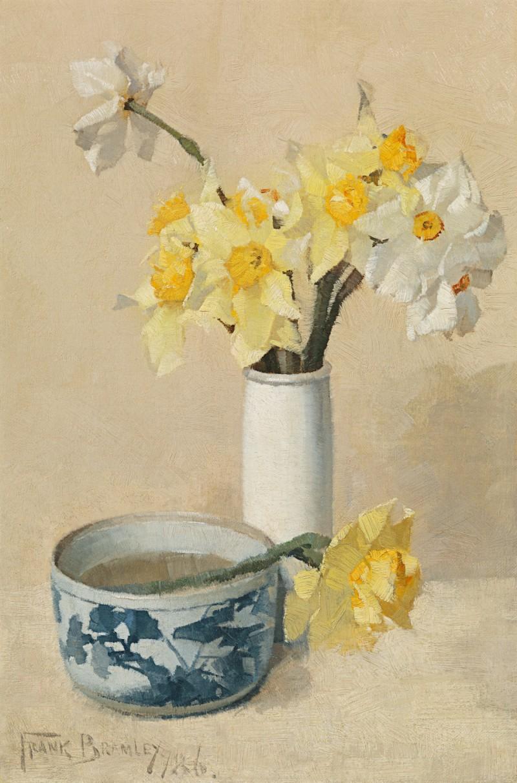 Frank Bramley - Daffodils and narcissi