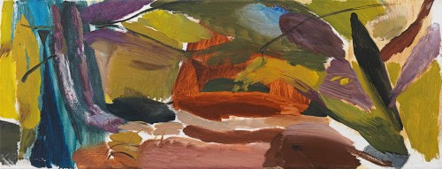 Ivon Hitchens - Arched trees - upward and inward movement