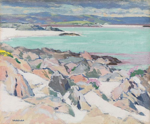 Francis Campbell Boileau Cadell - Iona, East Bay