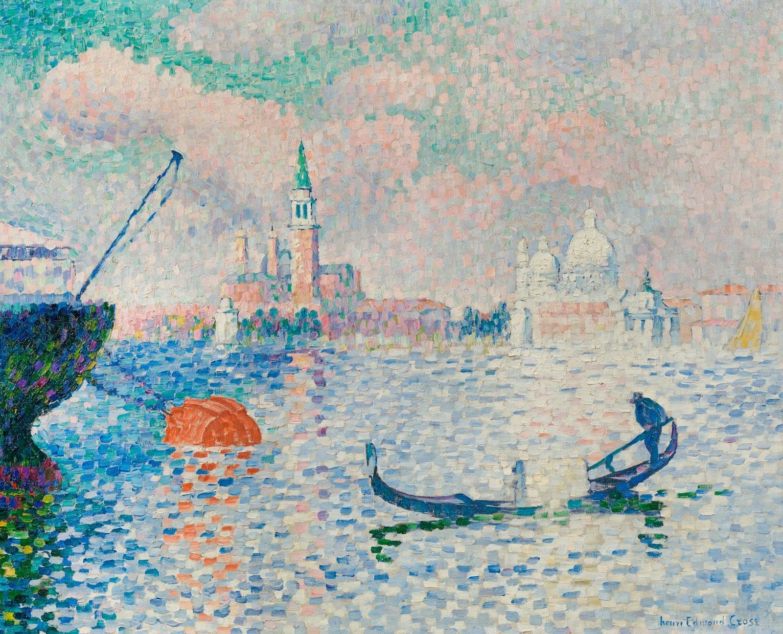 Henri Edmond Cross - Vue du bassin de Saint-Marc, Venise
