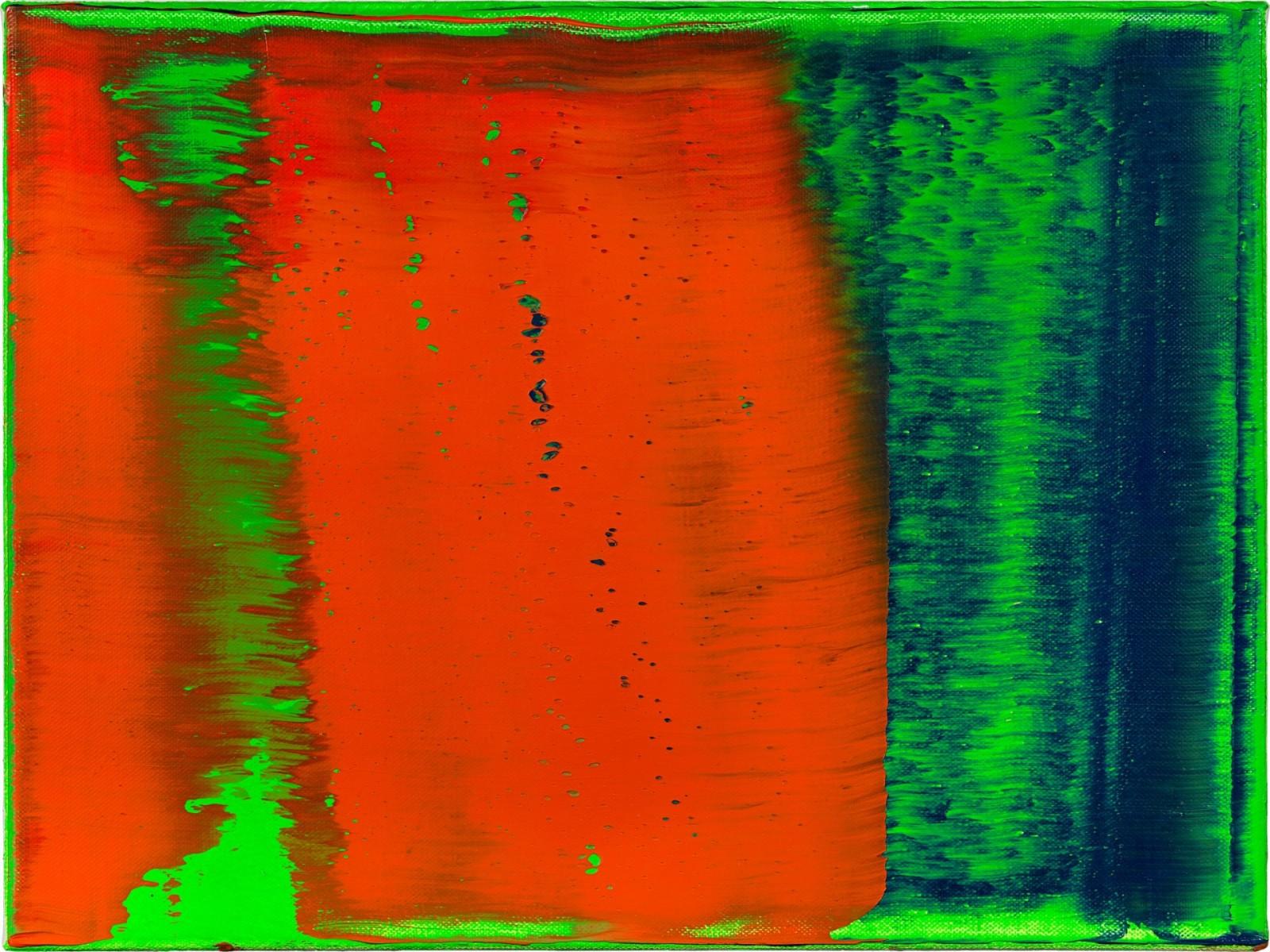 Gerhard Richter - Grün- Blau- Rot (Green-Blue-Red)