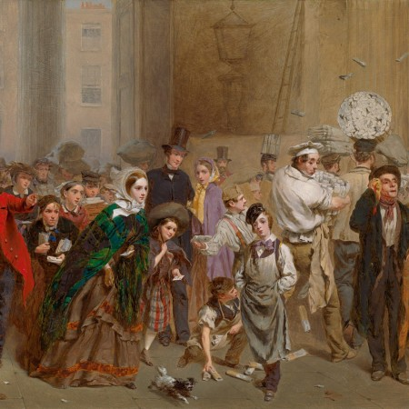 Seen and heard: Two Richard Green paintings on loan to the Guidhall Art Gallery's 'Victorian Children in Painting' exhibition