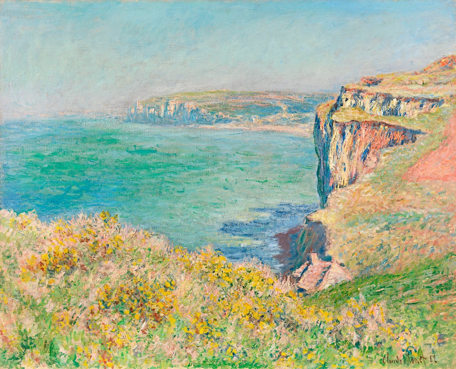 Normandy scene on loan to the National Gallery, London's exhibition Monet and Architecture