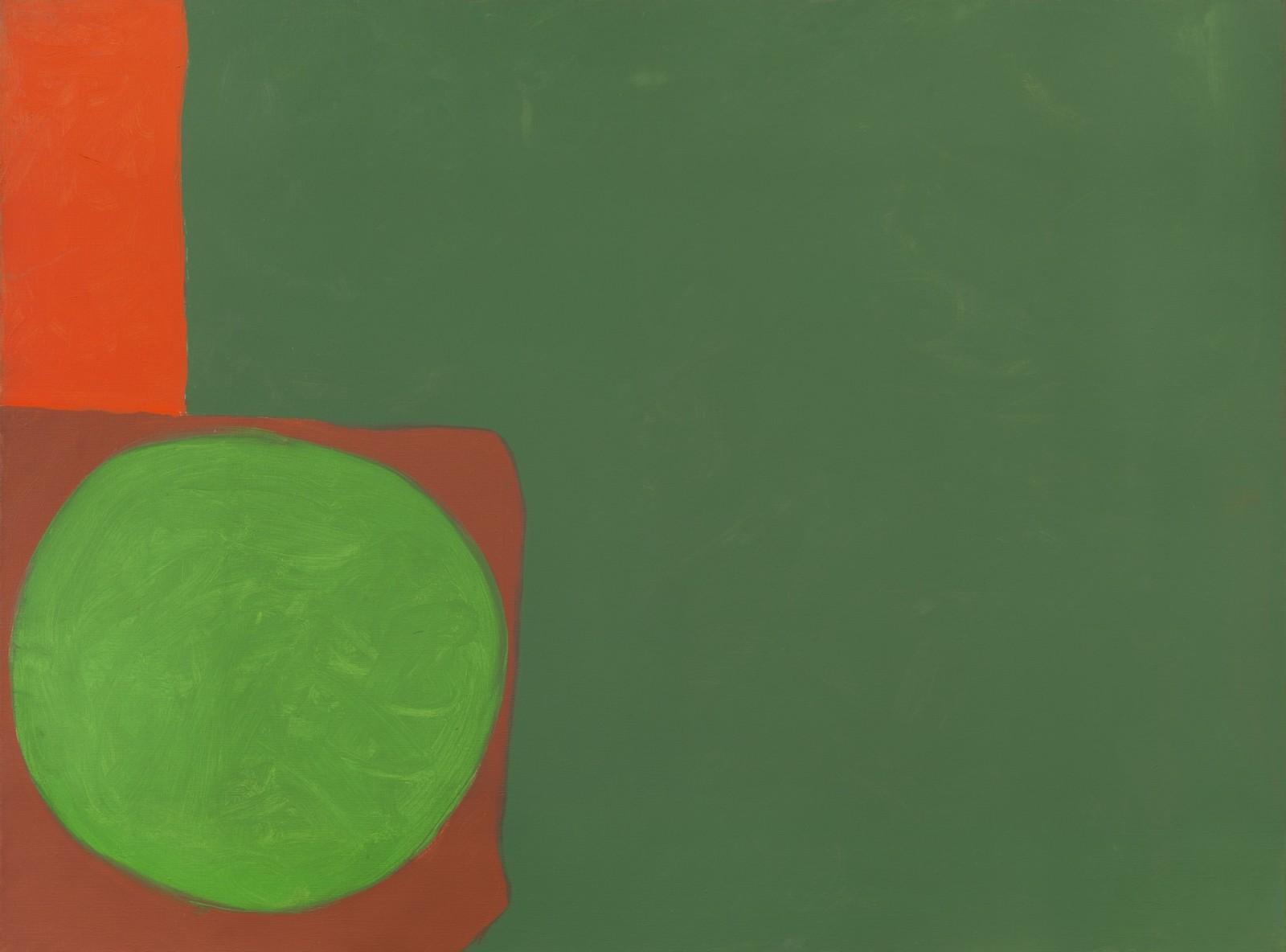 Patrick Heron - Mainly greens : 13 May 1964 - Exhibited at the British Art Fair 2019