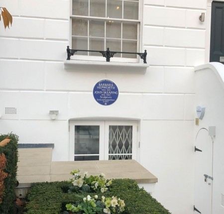 Barbara Hepworth gets a London Blue Plaque